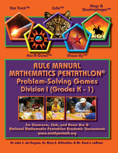 The Rule Manual for Mathematics Pentathlon Problem Solving Games Division III