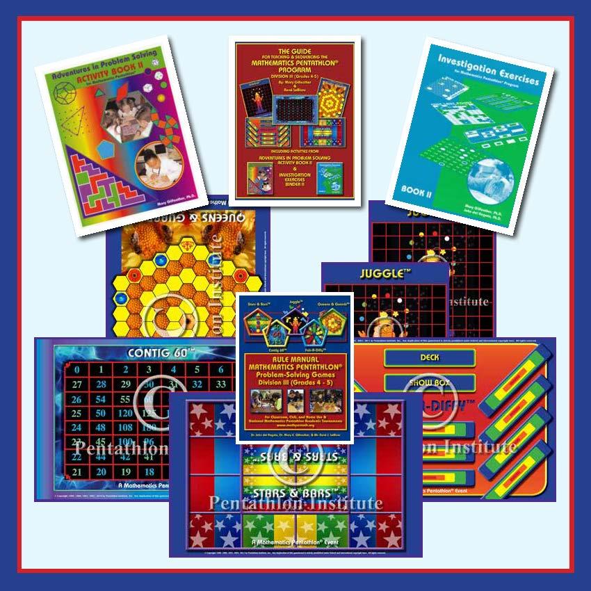 DIVISION III (Grades 4-5) GAMES