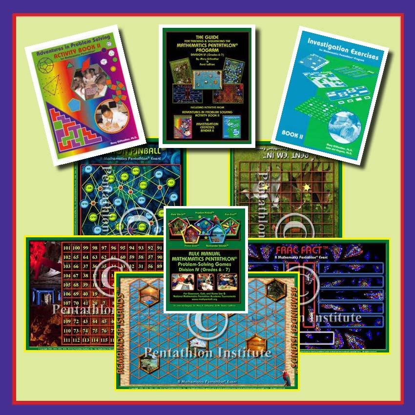 DIVISION IV (Grades 6-7) GAMES