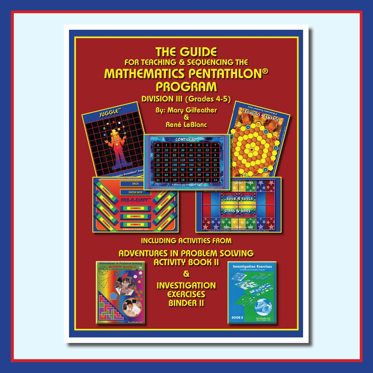 The Guides for Teaching Math Pentathlon